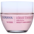 Soraya Ideal Beauty bohatý denní krém pro suchou pleť (Perfect Skin Complex and Essence of a Rose) 50 ml