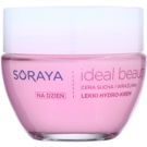 Soraya Ideal Beauty crema hidratante ligera  para pieles secas y sensibles (Hydro Block Complex and Hyaluronic Acid) 50 ml
