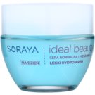 Soraya Ideal Beauty hidratante leve para pele normal a mista (Hydro Block Complex + Hyaluronic Acid) 50 ml
