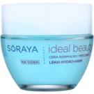 Soraya Ideal Beauty lekki krem nawilżający do cery normalnej i mieszanej  50 ml