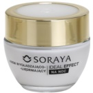 Soraya Ideal Effect verjüngende Nachtcreme für straffe Haut 40+ (With Hyaluronic Acid and Radiance Serum) 50 ml