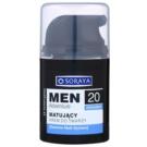 Soraya MEN Adventure 20+ matující krém s hydratačním účinkem pro muže  50 ml