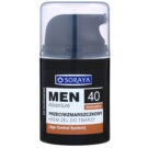 Soraya MEN Adventure 40+ crema gel anti - rid pentru barbati (Age Control System) 50 ml
