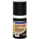 Soraya Max Cover base corretora de imperfeições SPF 6 tom 02 Beige 33 ml