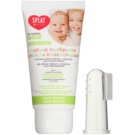 Splat Baby Natural Toothpaste with Massage Brush for Kids  Flavour Apple & Banana (For Babies Aged 0-3 Years) 40 ml