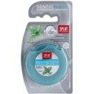 Splat Professional fio dental com prata sabor Extra Mint (Superslim Silver) 30 m