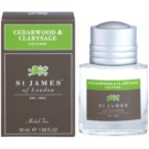 St. James Of London Cedarwood & Clarysage kölnivíz férfiaknak 50 ml