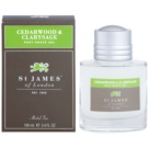 St. James Of London Cedarwood & Clarysage gel po holení pro muže 100 ml