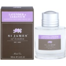 St. James Of London Lavender & Geranium gel za po britju za moške 100 ml