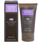St. James Of London Lavender & Geranium Rasiercreme für Herren 75 g Travelpack