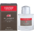 St. James Of London Sandalwood & Bergamot gel po holení pro muže 100 ml