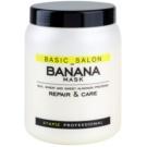 Stapiz Basic Salon Banana mascarilla reparación para cabello maltratado o dañado  1000 ml