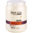 Stapiz Sleek Line Repair mascarilla reparación para cabello dañado, químicamente tratado (A Systematic Use of the Mask Increases the Healthy, Beautiful Look and the Hair Condition.) 1000 ml