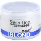 Stapiz Sleek Line Blond маска  для освітленого та сідого волосся  250 мл