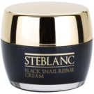 Steblanc Black Snail Repair crema regeneratoare pentru ten obosit (Containing of Snail Secretion Filtrate 92 %) 50 ml
