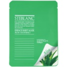 Steblanc Essence Sheet Mask Aloe máscara facial apaziguador  20 g