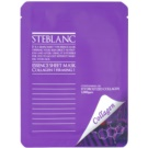 Steblanc Essence Sheet Mask Collagen maska za učvrstitev kože (Containing of Hydrolyzed Collagen) 20 g