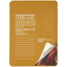 Steblanc Essence Sheet Mask Ginseng mascarilla facial nutritiva y reparadora (Containing of Ginseng Extracts) 20 g