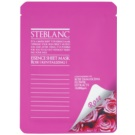 Steblanc Essence Sheet Mask Rose revitalisierende Gesichtsmaske  20 g