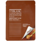 Steblanc Essence Sheet Mask Snail masca pentru fata hranitoare si reparatoare cu efect de hidratare (Containing of Snail Secretion Filtrate) 20 ml