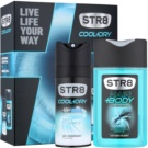 STR8 Cool & Dry zestaw upominkowy II.  dezodorant w sprayu 150 ml + żel pod prysznic 250 ml