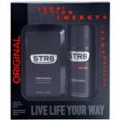 STR8 Original dárková sada II. toaletní voda 50 ml + deodorant ve spreji 150 ml
