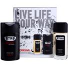 STR8 Original Geschenkset VI. Deo natural spray 85 ml + Duschgel 250 ml