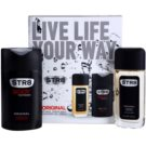 STR8 Original darilni set VI. dezodorant z razpršilnikom 85 ml + gel za prhanje 250 ml