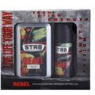 STR8 Rebel Geschenkset I. After Shave Water 100 ml + Deo-Spray 150 ml