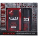 STR8 Red Code set cadou After Shave Water 100 ml + Deo-Spray 150 ml