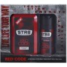 STR8 Red Code coffret I. loção after shave 100 ml + desodorizante em spray 150 ml
