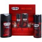 STR8 Red Code Geschenkset V. Deo-Spray 150 ml + Duschgel 250 ml