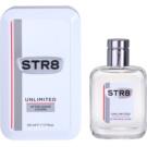 STR8 Unlimited loción after shave para hombre 50 ml