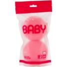 Suavipiel Baby jemná hubka na umývanie pre deti Pink (Sensitive Care + Hypoallergenic) 2 Ks