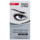 Swiss O.Par Color Kit cor para as sobrancelhas e pestanas tom Black