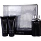 Ted Lapidus Black Soul Geschenkset I. Eau de Toilette 100 ml + After Shave Balsam 100 ml + Duschgel 100 ml