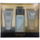 Ted Lapidus Lapidus Pour Homme lote de regalo I. eau de toilette 100 ml + bálsamo after shave 100 ml + gel de ducha 100 ml