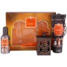 Tesori d'Oriente Fior di Loto e Latte d' Acacia Gift Set I.  Eau De Toilette 100 ml + Shower Cream 250 ml + lantern 1 ks