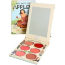 theBalm How 'Bout Them Apples? estuche de maquillaje coloretes y barras de labios textura crema  20 g