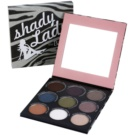 theBalm Shady Lady paleta senčil za oči (9 Color Eyeshadow) 17 g