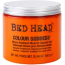 TIGI Bed Head Colour Goddess maska pro barvené vlasy (Miracle Treatment Mask for Coloured Hair) 580 g