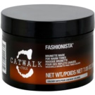 TIGI Catwalk Fashionista Hair Mask for Warm Brown Shades (Brunette Mask for Warm Tones) 200 g