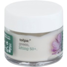 Tołpa Green Lifting 50+ крем проти зморшок для шкіри навколо очей з ліфтинговим ефектом Chicory, Primrose, Shea Butter (Hypoallergenic) 17 мл