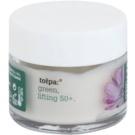 Tołpa Green Lifting 50+ Anti-Faltencreme für den Augenbereich mit Lifting-Effekt Chicory, Primrose, Shea Butter (Hypoallergenic) 17 ml