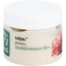Tołpa Green Modeling 60+ nočna krema za preoblikovanje obraza za pomladitev kože Wild Rose, Buckbean, Shea Butter (Rejuvenates Facial, Featuresfills Wrinkles, Lightens Discoloration) 50 ml