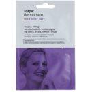 Tołpa Dermo Face Modelar 50+ máscara de efeito lifting para rosto, pescoço e decote (Hypoallergenic) 2 x 6 ml