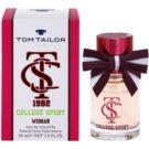 Tom Tailor College sport Eau de Toilette para mulheres 30 ml