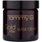 Tommy G Gold Affair hidratáló és világosító maszk az érzékeny arcbőrre  60 ml