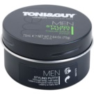 TONI&GUY Men ceara de par pentru un aspect mat (Styling Putty Casual Matte Finish) 75 ml