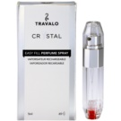 Travalo Crystal Silver nachfüllbarer Flakon mit Zerstäuber unisex 5 ml